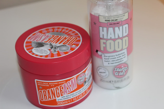 soap and glory orangeasm and hand food