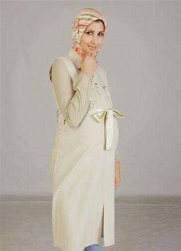 wanita hamil,model baju muslim hamil, model baju hamil trendy