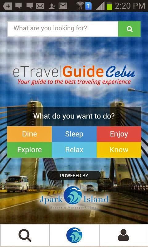 Cebu Travel Guide Mobile App