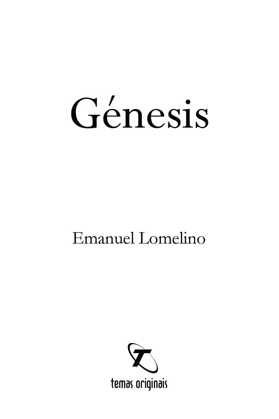 O meu 7º livro GÉNESIS