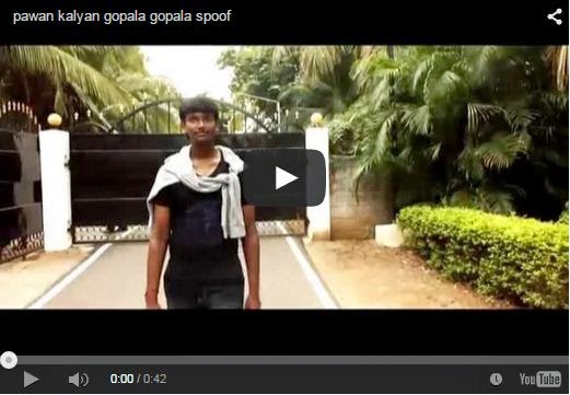 pawan kalyan gopala gopala spoof | Very Cute | Every Pawan Kalyan Fan Must Watch And Share