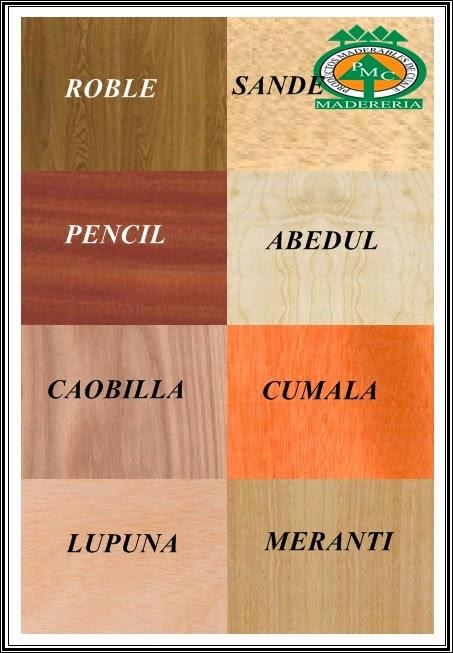 Productos maderables de cuale que es triplay o - Maderas de pino precios ...
