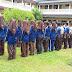 Pengaambilan Baju Lapangan Andik PMR Wira SMK N 1 GOMBONG