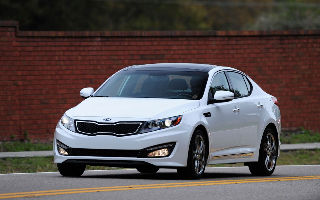 The Green Light  2013 Kia Optima Limited