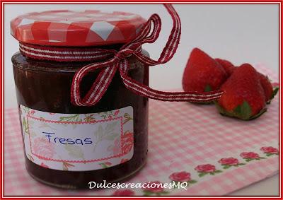 Mermelada Fresas Fresones Conservas Casera Primavera Fruta Dulce Pasión Amor Postre Desayuno Merienda Azúcar Vainilla Tarde