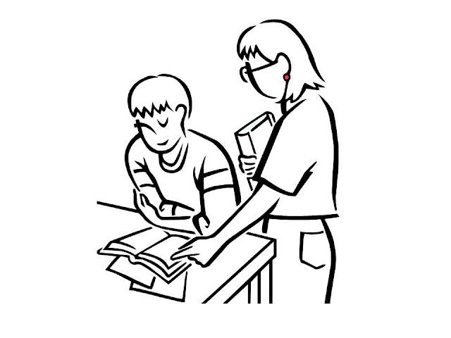 Gambar mewarna - study group