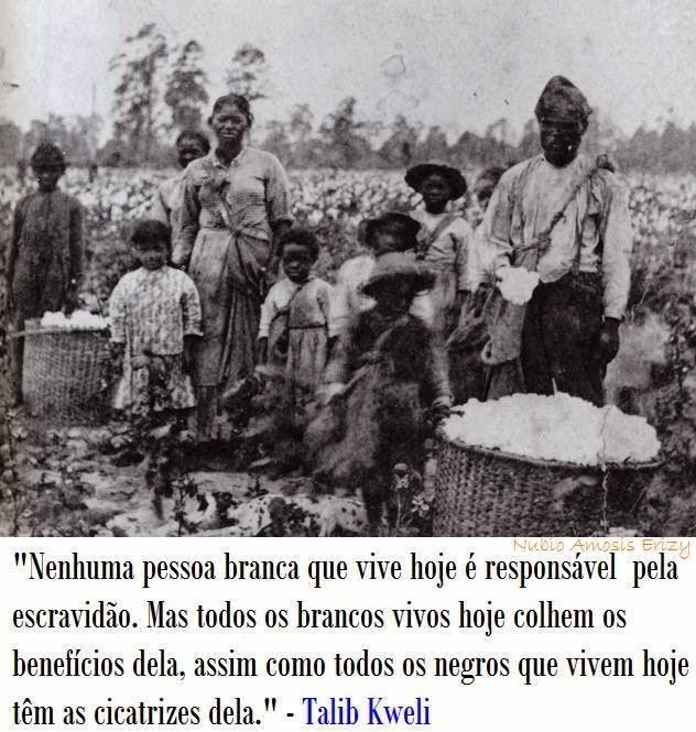 Escravidão - ontem e hoje.