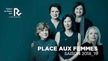 THÉÂTRE du RIDEAU VERT - Place aux femmes!