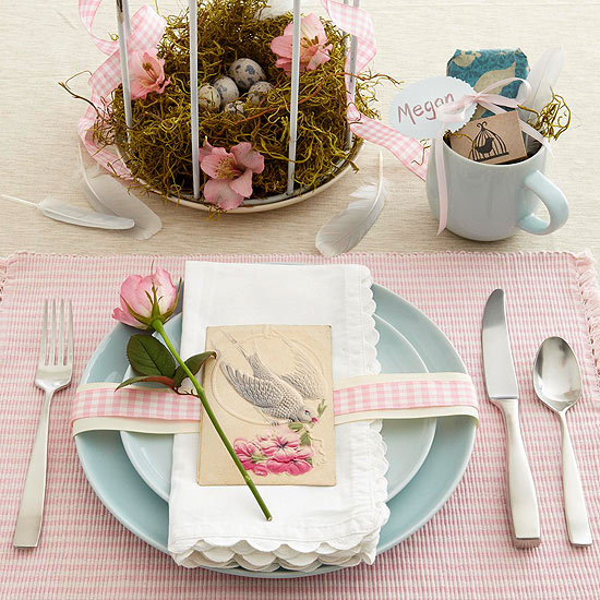 Inside the Brick House: Easy Easter Centerpieces & Table Settings ...