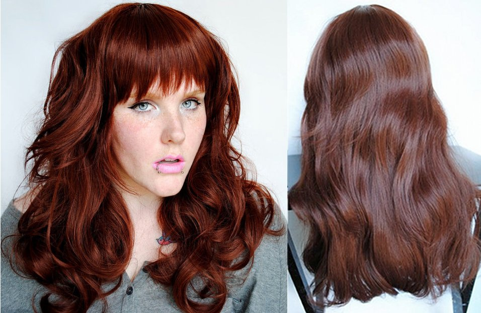Rich Chocolate Red Brown Hair Color Fall hair color trend: rich