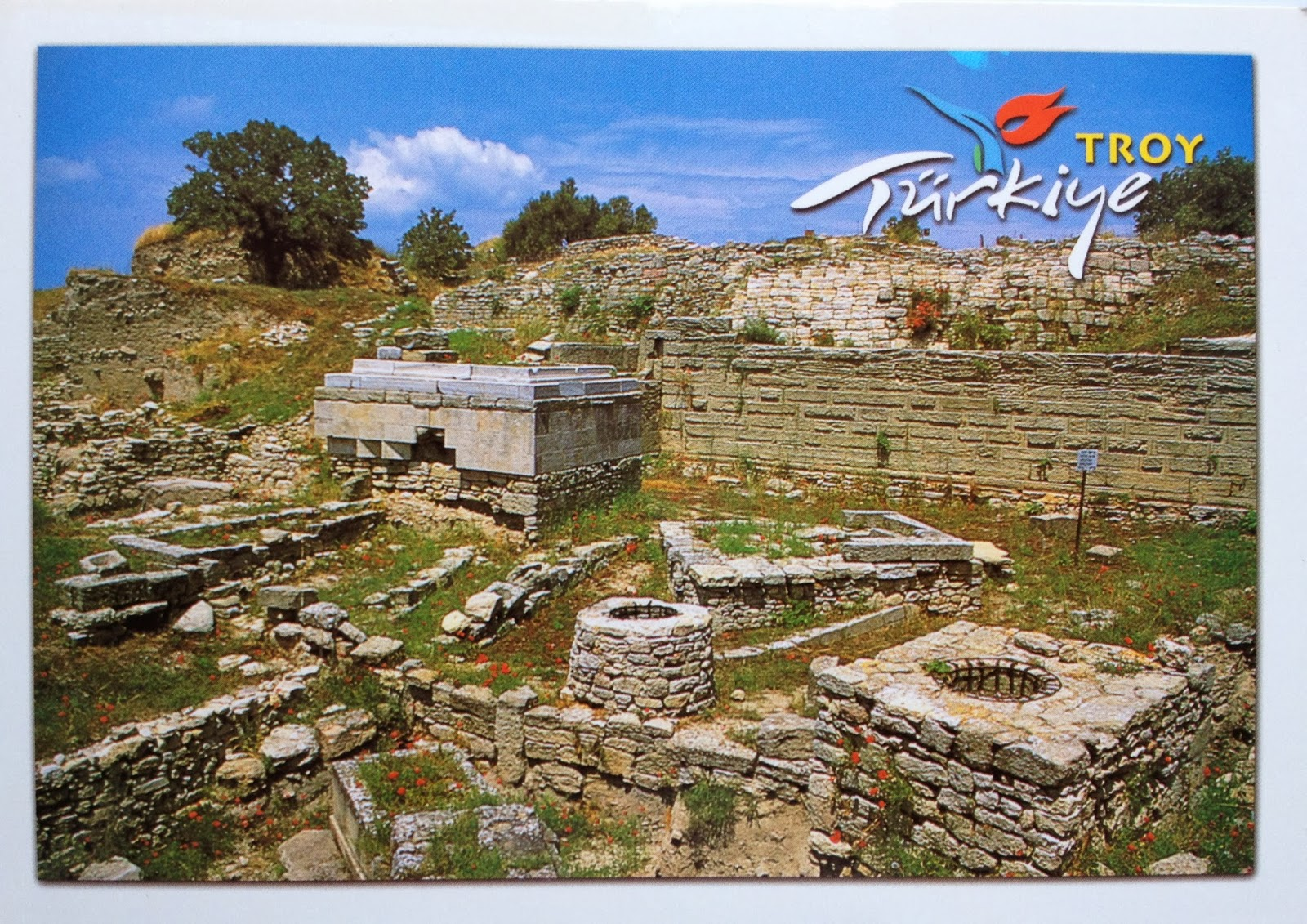 archaeological site of troy