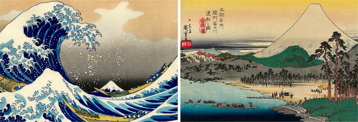 Pittura giapponese e natura
