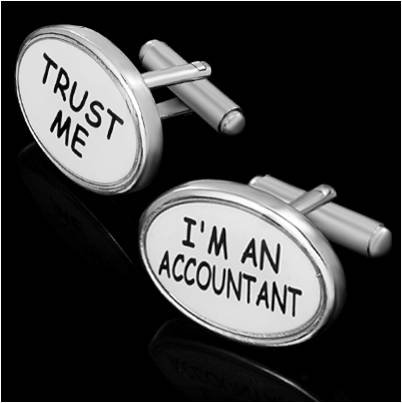 Accountant Cufflinks5