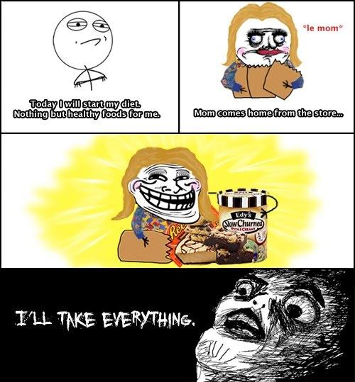 Troll Mom - Diet - Based On True Story