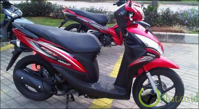 Modifikasi Honda Spacy Helm In 2014
