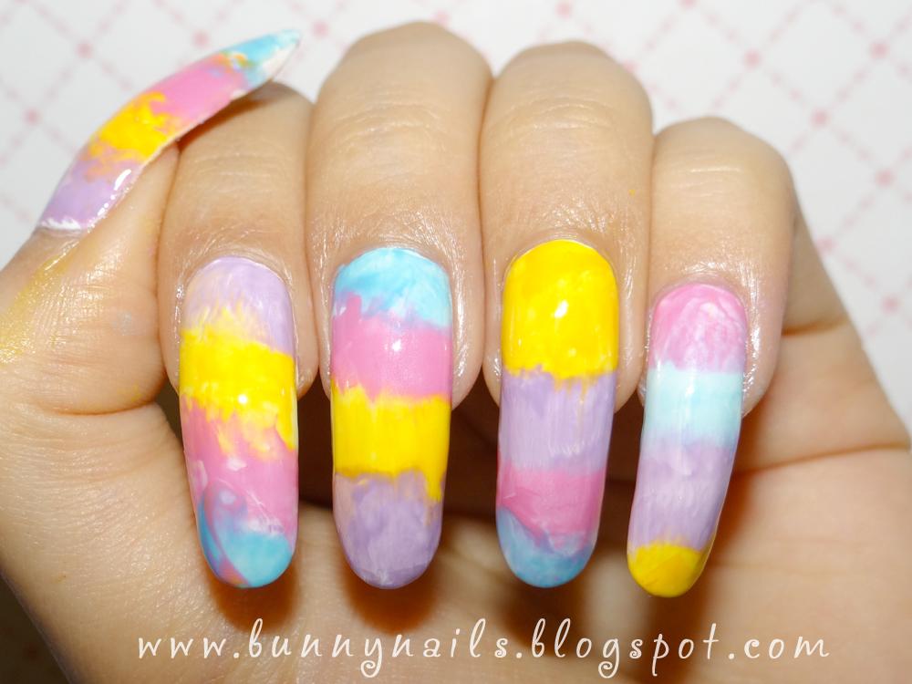 color nail polish: Nail Art Remake: Ice Cream and Candy Nails & Tutorial