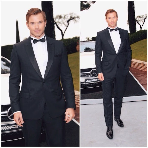Kellan Lutz in Dior Homme - amfAR Cinema Against AIDS Gala #Cannes2014