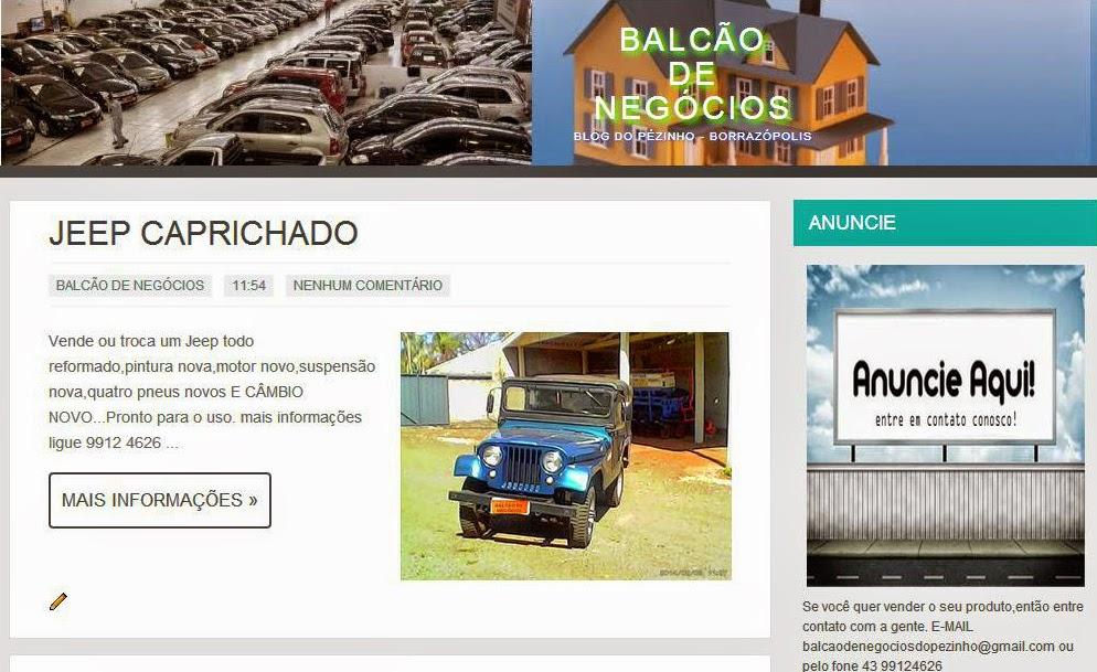 http://balcaodenegociosdopezinho.blogspot.com.br/