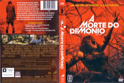 A Morte do Demônio DVD Capa
