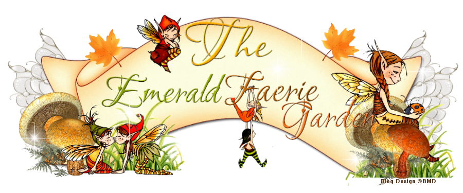 Deb Mitchell's Emerald Faeries Garden Blog