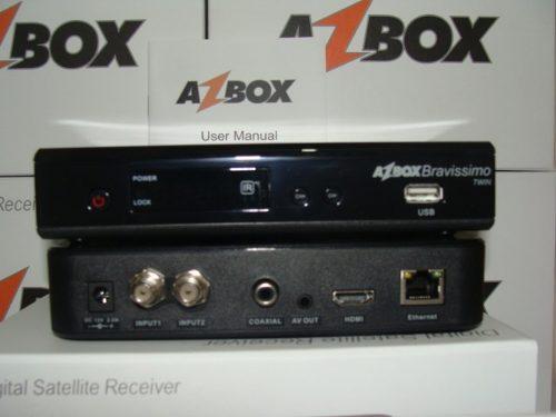 Nova Atualização Azbox Bravissimo Twin de 28/09/12