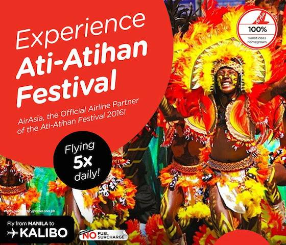 Philippines AirAsia in Ati-Atihan