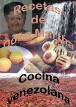 RECETAS DE DOÑA MARTHA