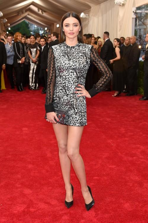 Miranda Kerr in custom Louis Vuitton