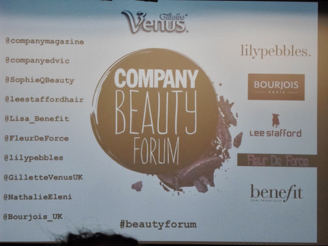 COMPANY BEAUTY FORUM EVENT
