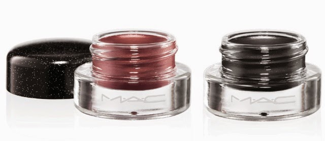 MAC Heirloom Mix Collection for Holiday 2014, Fluidline, Dark Majesty, Gentrified