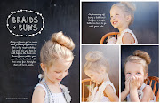. Engaged for a photo shoot and we adore these flower girl hairstyles.