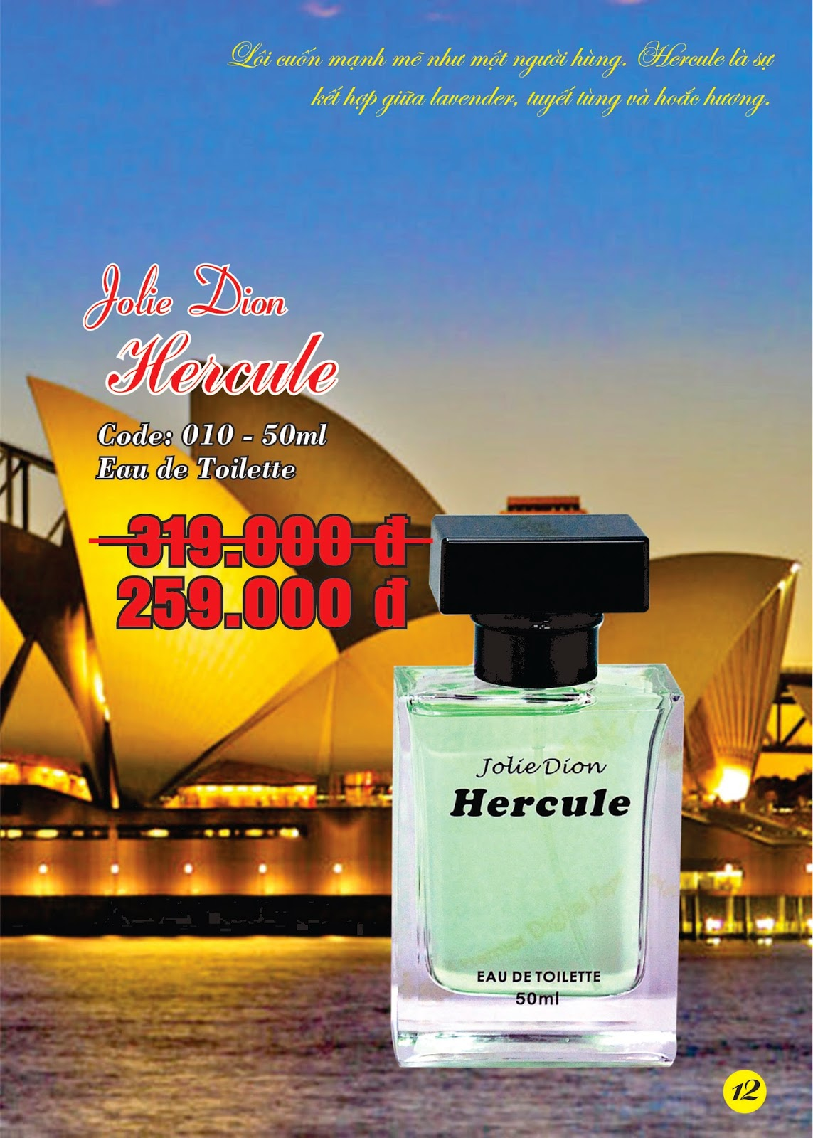 Jolie Dion Hercule For Men