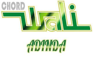 Lirik dan Chord(Kunci Gitar) Wali ~ Adinda