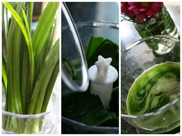 Cách làm mứt dừa lá dừa, ca cao, trà xanh 1
