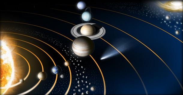 Sistema solar: A Terra é o terceiro ponto azul a contar do Sol