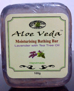Aloe Veda lavender soap