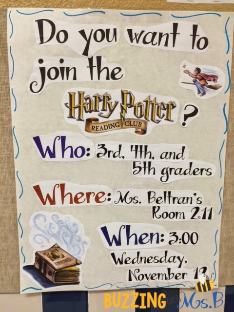 Harry Potter Book 1 Worksheets : Buzzing with ms b potter fans harry book club