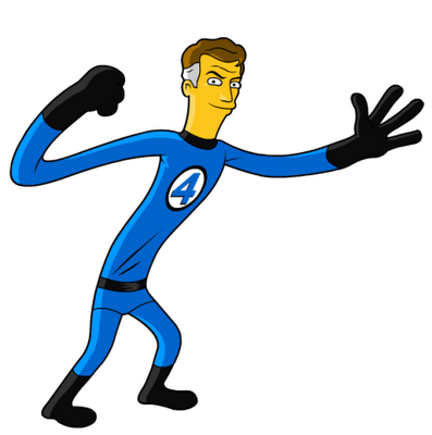 Mr_Fantastic_Marvel_Comics_Simpson