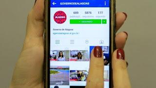 Governo de Alagoas tem as redes sociais mais acessadas do Brasil
