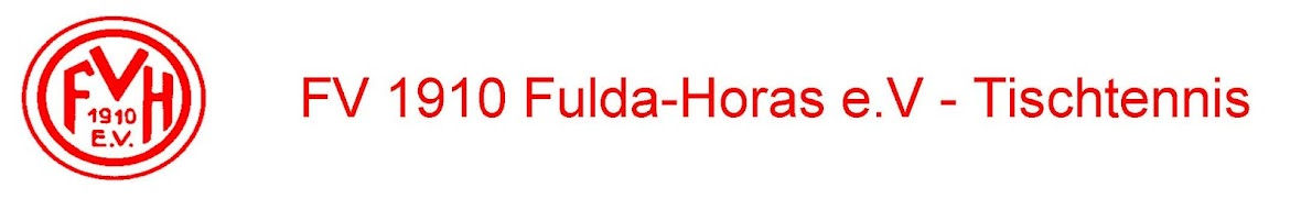 FV 1910 Fulda-Horas e.V. - Abteilung Tischtennis