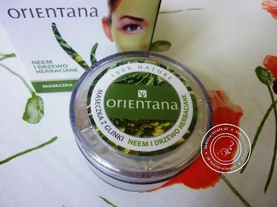 Orientana - maseczka z glinki - neem i drzewo herbaciane - 100% nature