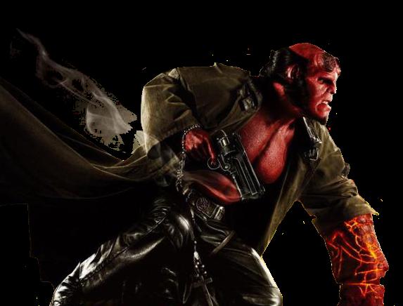 Render Hellboy