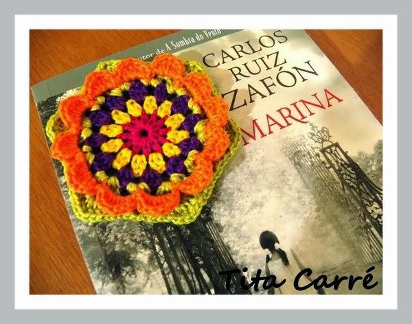 Meus Square Floral com Carlos Ruiz Zafón