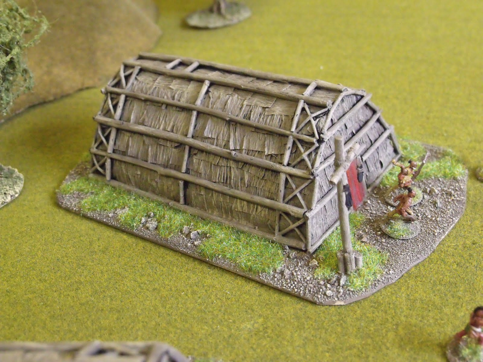 Don 39 T Throw A 1 How To Build No1 Fiw Indian Longhouses