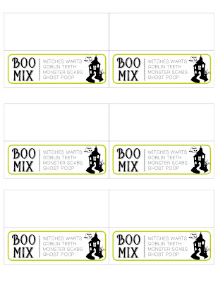 Boo Mix By Wamp Designs - Free Labels