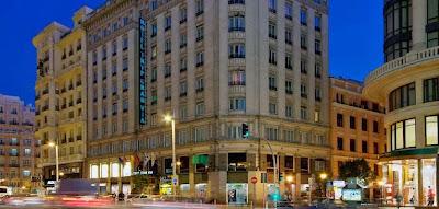 Hotel Melia de Gran Vía en Madrid