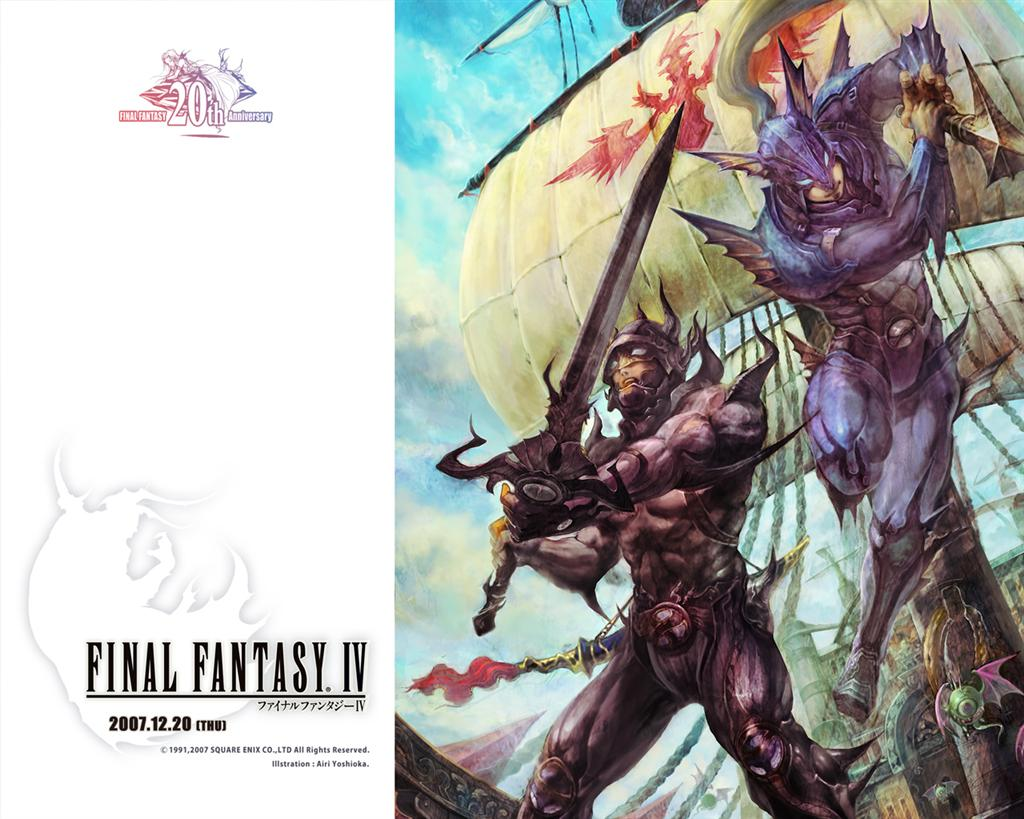 Final Fantasy HD & Widescreen Wallpaper 0.928713006055336
