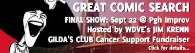 Gilda's Club, Great Comic Search, Jim Krenn, Pittsburgh