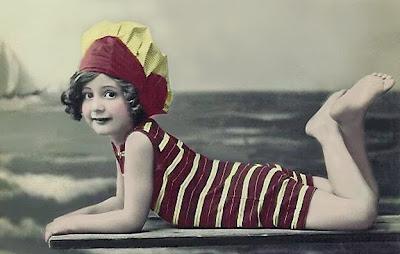 foto antigua de niña
