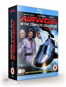 Airwolf Bluray Box Set for Seasons 1-3